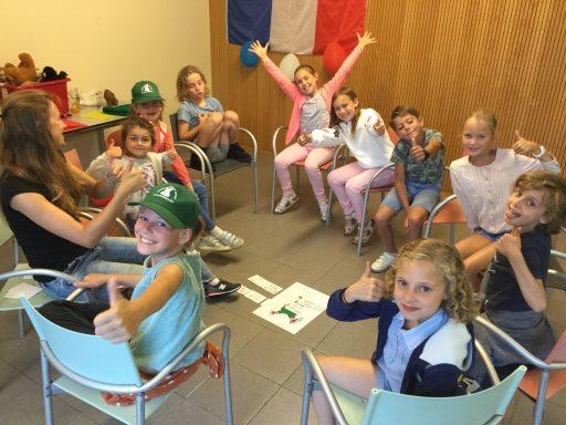 Frans kamp voor kinderen en jongeren van 5 tot 16 jaar